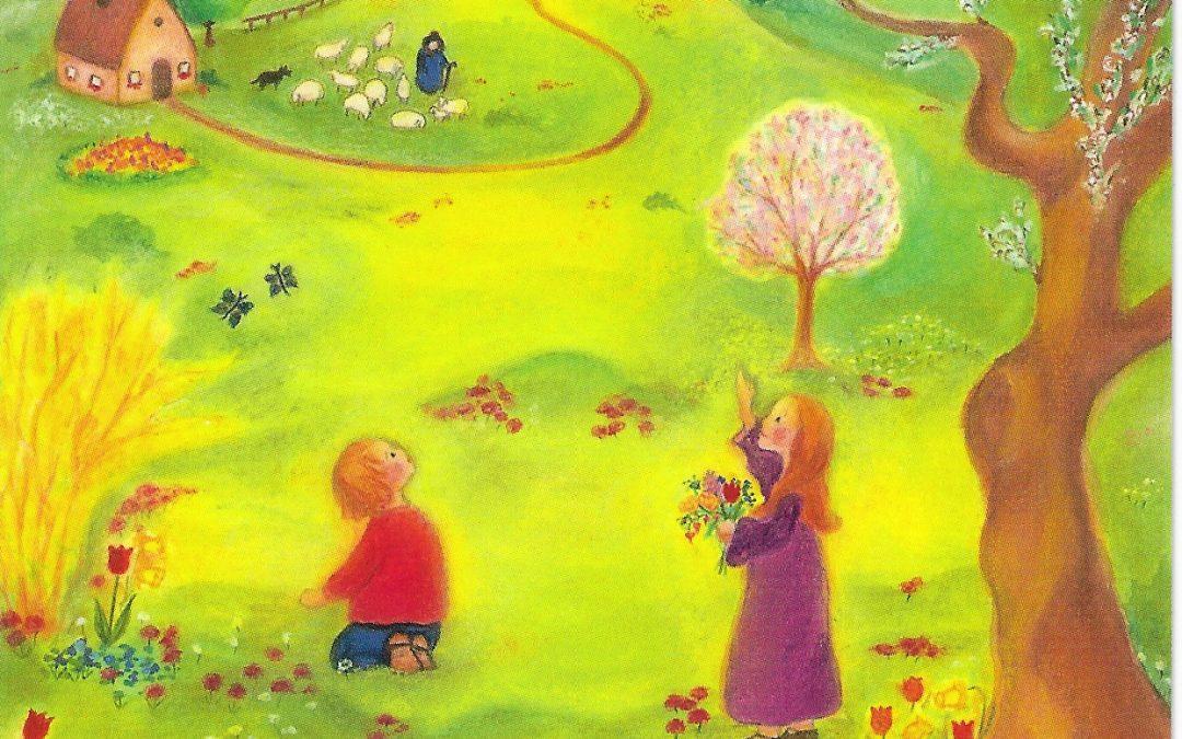 Ostern Teil I – Frühling – Kontemplation – und die Himmelsuhr