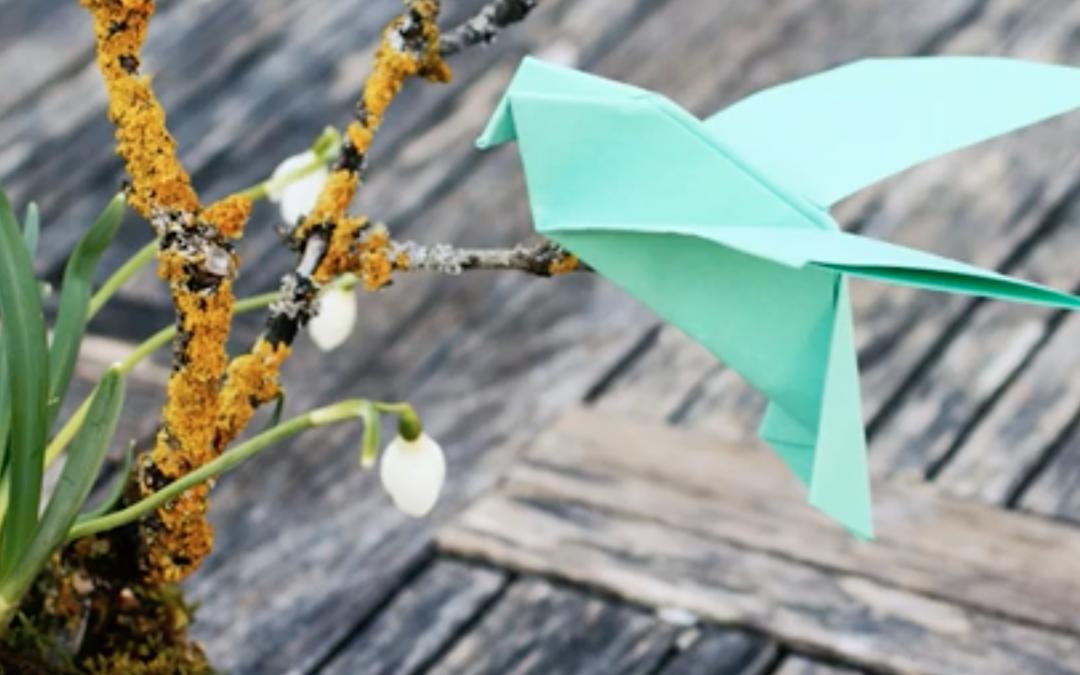 Origami Vögelein