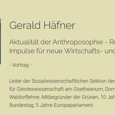 Über die Aktualität der Anthroposophie – Rückblick zur Tagung
