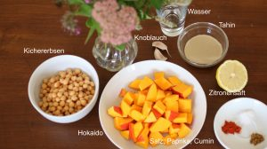 Kürbis Hummus Zutaten | Blog Waldorfshop